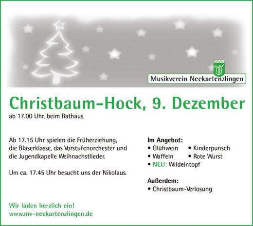 Christbaum-Hock 2017