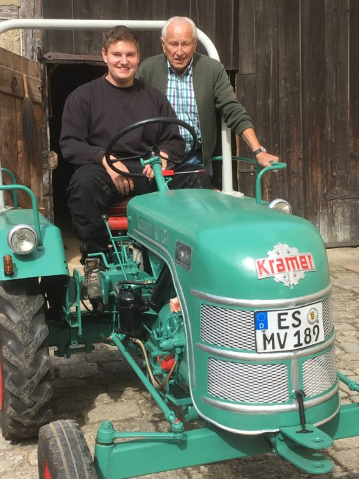 Traktor des MVN